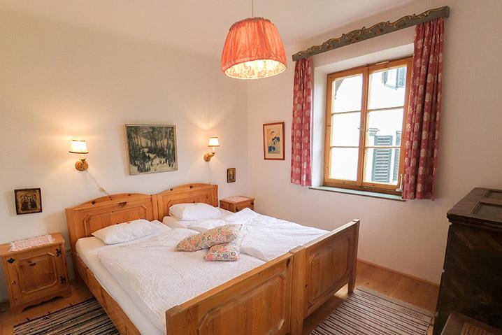 Schlafzimmer Doppelbett Stöckl